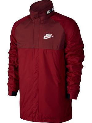 Куртка M NSW AV15 JKT HD WVN WNGR Nike. Цвет: красный, черный
