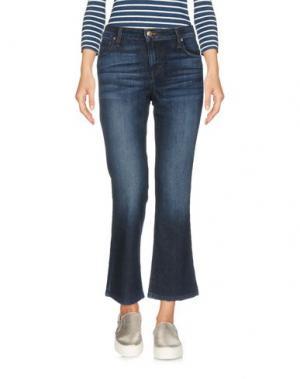 Джинсовые брюки-капри JOE'S JEANS. Цвет: синий