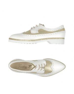 Обувь на шнурках GIORDANA F.. Цвет: белый