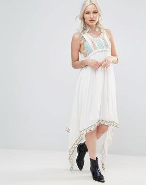 Raga Платье макси Coastland. Цвет: синий