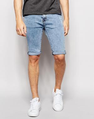 Loyalty & Faith Мраморные джинсы. Цвет: синий