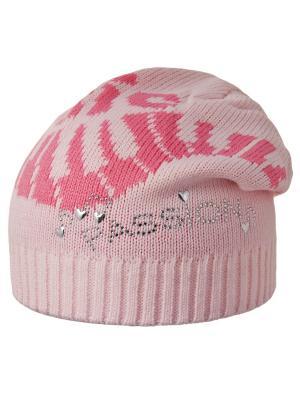 Шапка Achti. Цвет: розовый, светло-коралловый