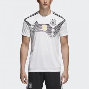 Домашняя игровая футболка сборной Германии  Performance adidas. Цвет: черный
