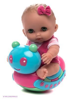 Пупс Покачай меня JC Toys. Цвет: розовый, голубой