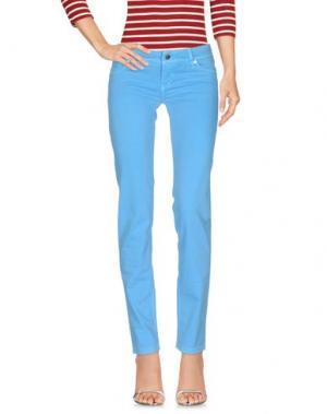 Джинсовые брюки JFOUR. Цвет: лазурный