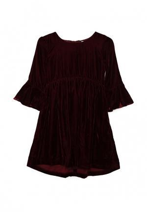Платье Gap. Цвет: бордовый
