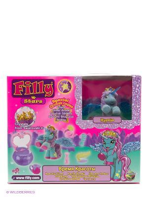 Игровой набор лошадки Филли.Filly Звезды Hypnia Dracco. Цвет: розовый