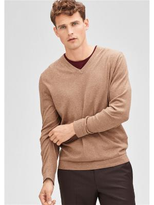 Пуловер S.OLIVER. Цвет: бежевый