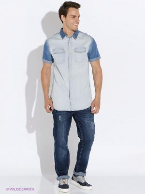 Рубашка H.I.S. Цвет: голубой
