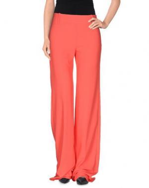 Повседневные брюки KITAGI®. Цвет: коралловый