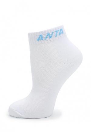 Носки Anta. Цвет: белый