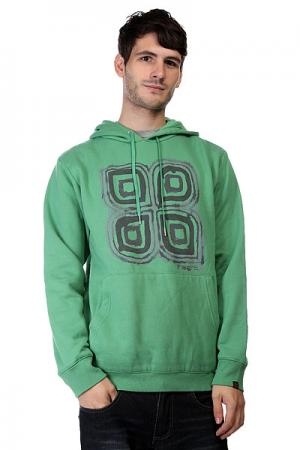Толстовка кенгуру  Inked Ho Hood Weed Green Insight. Цвет: зеленый