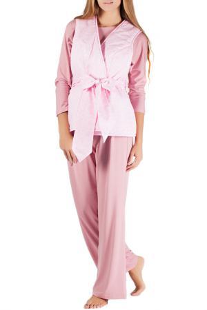 Комплект домашний MONNA MURR. Цвет: розовый