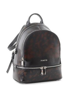 Рюкзак Fiato. Цвет: рыжий, черный