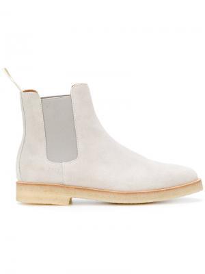 Ботинки Челси Common Projects. Цвет: серый
