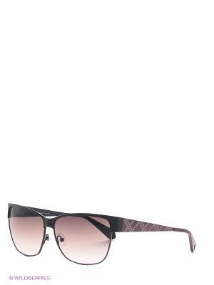 Очки Enni Marco. Цвет: коричневый, фиолетовый, черный