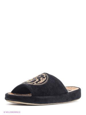 Тапочки Dream Feet. Цвет: черный, бежевый