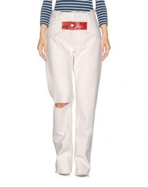 Джинсовые брюки ALYX. Цвет: белый