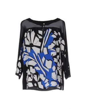 Блузка CHIARA D'ESTE. Цвет: черный