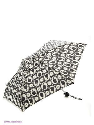 Зонт Fulton. Цвет: черный, кремовый