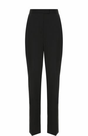 Шерстяные брюки прямого кроя Escada Sport. Цвет: черный
