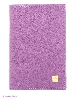 Обложка для паспорта Dimanche. Цвет: лиловый