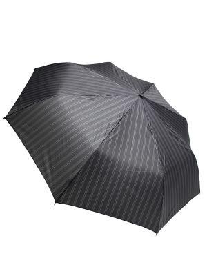 Зонт Edmins. Цвет: черный, серо-коричневый