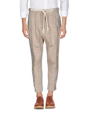 Повседневные брюки TAKESHY KUROSAWA. Цвет: песочный
