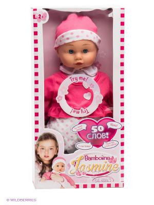 Кукла Bambolina. Цвет: розовый