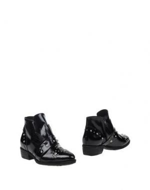 Полусапоги и высокие ботинки GIORDANA F.. Цвет: черный