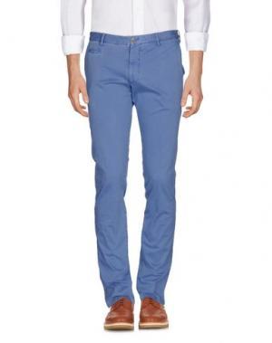 Повседневные брюки ALTEA. Цвет: пастельно-синий
