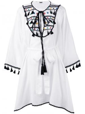 Платье Kava Dodo Bar Or. Цвет: белый