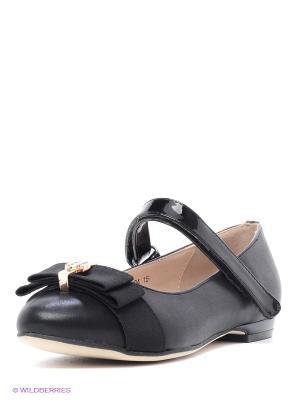 Туфли Bagira. Цвет: черный