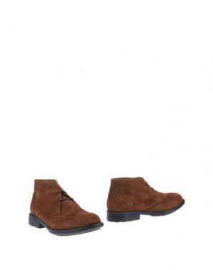 Полусапоги и высокие ботинки CANTARELLI. Цвет: коричневый