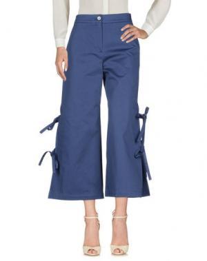 Повседневные брюки NEUL. Цвет: темно-синий