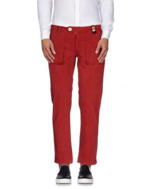Повседневные брюки MOLO ELEVEN. Цвет: красный