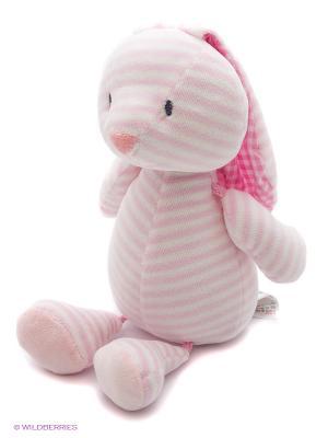 Игрушка мягкая (Stripes & Dots Brynlee , 25,5 см). Gund. Цвет: бледно-розовый