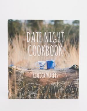 Books Книга Date Night Cook Book. Цвет: мульти