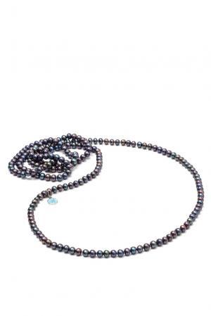 Ожерелье 181733 Nasonpearl. Цвет: черный