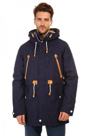 Куртка парка  Urban Parka Patriot Blue CLWR. Цвет: синий