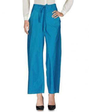 Повседневные брюки TSUMORI CHISATO. Цвет: бирюзовый