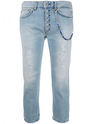 Укороченные джинсы Dondup. Цвет: синий