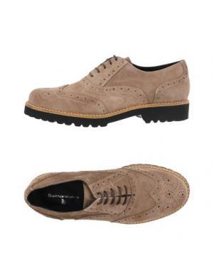 Обувь на шнурках SETTANTATRE LR. Цвет: голубиный серый