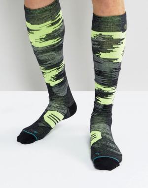 Stance Зимние носки. Цвет: черный