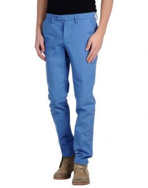 Повседневные брюки HAIKURE. Цвет: пастельно-синий