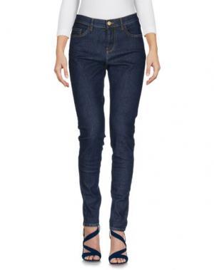 Джинсовые брюки DES PETITS HAUTS. Цвет: синий