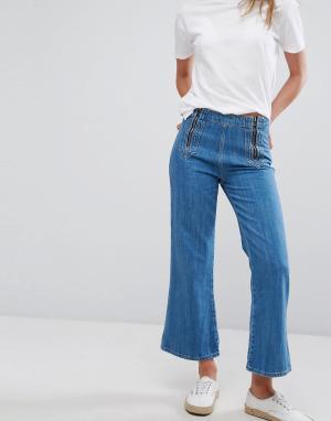 MiH Jeans Джинсовые кюлоты. Цвет: синий