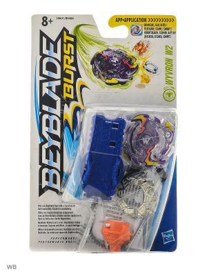 Бейблэйд: Волчок с пусковым устройством Hasbro. Цвет: фиолетовый