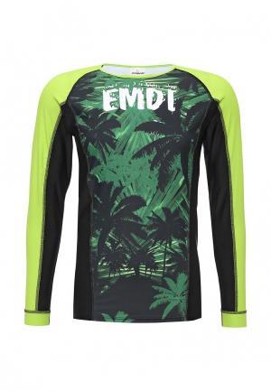Купальник Emdi. Цвет: зеленый