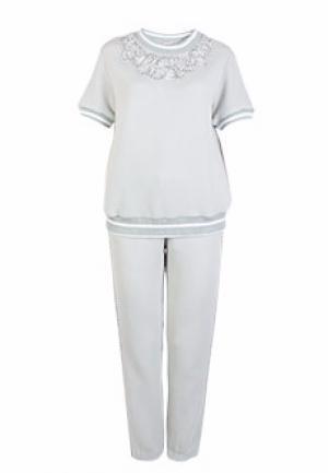 Спортивный костюм ALTER EGO. Цвет: серый